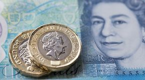 Britse Munt 2017 Royalty-vrije Stock Afbeelding