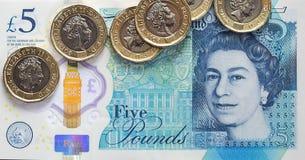 Britse Munt 2017 Stock Afbeeldingen