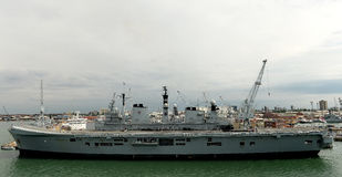 Britse Oorlogsschepen Royalty-vrije Stock Afbeeldingen