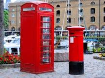 Britse pictogrammen Royalty-vrije Stock Foto's