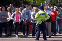 Britse politiemens stock foto's