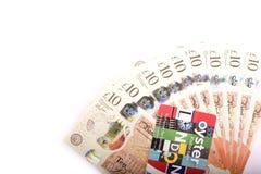 Britse 10 ponden Stock Foto's