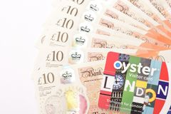 Britse 10 ponden Stock Foto