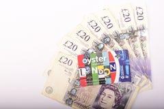 Britse 20 ponden Royalty-vrije Stock Afbeeldingen