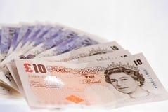 Britse ponden Royalty-vrije Stock Foto
