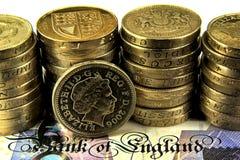 Britse Ponden Royalty-vrije Stock Fotografie