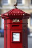 Britse PostDoos - Stad van Bad - Engeland Royalty-vrije Stock Afbeelding
