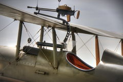 Britse SE5a Cockpit WWI Royalty-vrije Stock Foto's
