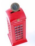 Britse telefooncel. Royalty-vrije Stock Foto