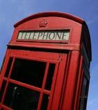 Britse telefooncel Stock Afbeelding