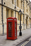 Britse Telefooncel - Groot-Brittannië Stock Foto's