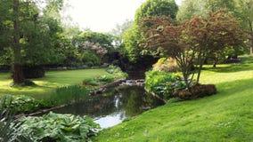 Britse tuin Stock Afbeeldingen