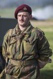 Britse Tweede Wereldoorlogmilitair royalty-vrije stock afbeeldingen