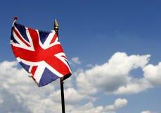 Britse vlag Stock Foto
