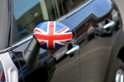 Britse vlag op Mini royalty-vrije stock fotografie