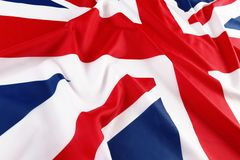 Britse vlag, Union Jack Stock Foto
