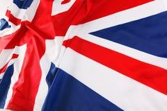 Britse vlag, Union Jack Royalty-vrije Stock Afbeeldingen