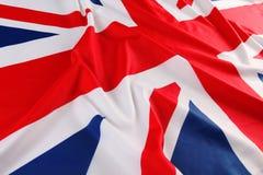 Britse vlag, Union Jack Stock Foto's