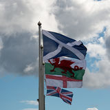 Britse vlaggen Royalty-vrije Stock Afbeelding