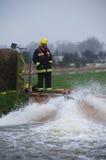 Britse 2014 Vloed Stock Afbeelding