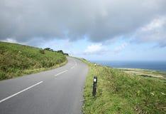 Britse weg, B3306. Stock Foto
