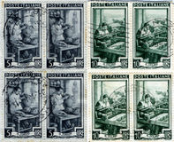 Britse Zegels Royalty-vrije Stock Foto
