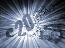 Britsh bank note Stock Images
