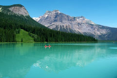 Britsh Colombie, lac Emeral Photographie stock