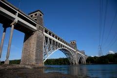 Brittania Bridge Stock Photo
