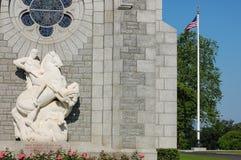 Brittany American Cemetery e memorial Fotos de Stock