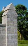 Brittany American Cemetery en Gedenkteken Stock Foto's