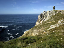 Brittany, Camaret: Pointe de pen-Hir Royalty Free Stock Photo