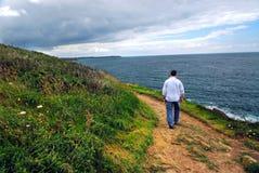 Brittany coast Stock Photos