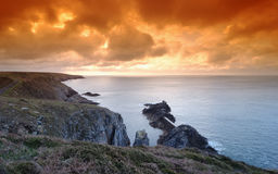 Brittany coast Stock Images