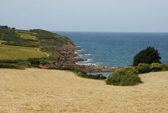 The Brittany coast Stock Images