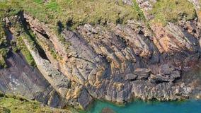 Brittany Coastline - close-up vídeos de arquivo