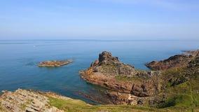 Brittany Coastline stock video footage