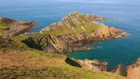 Brittany Coastline video estoque