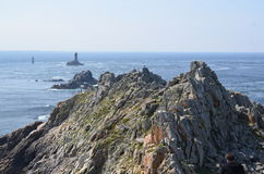 Brittany costal (Francja na LIPU 2014 Obrazy Stock