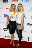 Brittany Daniel and Cynthia Daniel. At the 5th Biennial Stand Up To Cancer held at the Walt Disney Concert Hall in Los Angeles, USA on September 9, 2016 stock photo