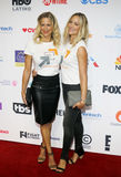 Brittany Daniel and Cynthia Daniel. At the 5th Biennial Stand Up To Cancer held at the Walt Disney Concert Hall in Los Angeles, USA on September 9, 2016 royalty free stock photography
