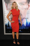 Brittany Daniel. LOS ANGELES, CA - APRIL 10, 2014: Brittany Daniel at the Los Angeles premiere of Transcendence at the Regency Village Theatre, Westwood stock image