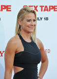 Brittany Daniel. LOS ANGELES, CA - JULY 10, 2014: Brittany Daniel at the world premiere of Sex Tape at the Regency Village Theatre, Westwood royalty free stock image