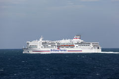 Brittany Ferries ship Stock Photos