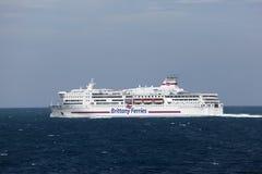 Brittany Ferries wysyła Zdjęcia Stock