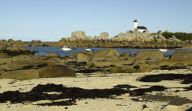 Brittany, Finistere: coastline of Kersaint Stock Photography