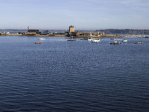 Brittany; Finistere: Harbour of Camaret Royalty Free Stock Photography