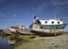 Brittany; Finistere: Harbour of Camaret Stock Images