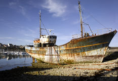 Brittany; Finistere: Harbour of Camaret Royalty Free Stock Images