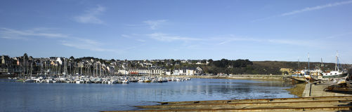 Brittany; Finistere: Harbour of Camaret Stock Photos